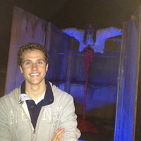 Photo taken at Ruby Falls Haunted Caverns by Jackson R. on 10/28/2013