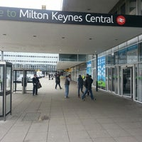 Photo taken at Milton Keynes Central Railway Station (MKC) by Hannah on 3/21/2013