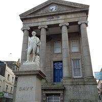 Photo taken at Humphry Davy Statue by Impaled on 7/23/2013