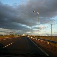 Photo taken at Rodovia BR-386 by Cristiane C. on 2/24/2014