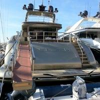Photo taken at Port de Saint-Tropez by Cat P. on 1/7/2013
