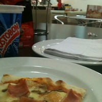 Photo taken at Jeno's Pizza by Sebastian on 10/26/2012