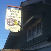 Photo taken at Mo's Pub & Eatery by Mike B. on 8/10/2014