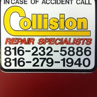 Photo taken at Collision Repair Specialists by Jeremy Scott Eaton A. on 12/26/2012