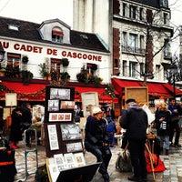 Photo taken at Place du Tertre by Ashraf Wood on 12/25/2012