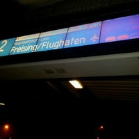 Photo taken at S1 Freising/Flughafen - Ostbahnhof by Michael H. on 11/8/2011