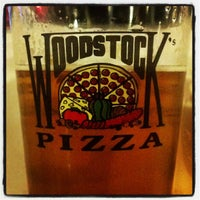 Photo taken at Woodstock's Pizza by Frank E. on 2/14/2013
