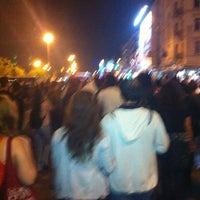Photo taken at Acibadem direnişte by Serdar on 6/15/2013