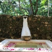 Photo taken at Hacienda Uayamon, a Luxury Collection Hotel, Uayamon by P.A.U on 10/31/2017