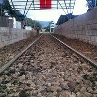 Photo taken at Andén Tren Urbano - Tres Rios by Isaac on 6/18/2013