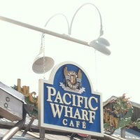 Photo taken at Pacific Wharf Café by Talen on 3/27/2013