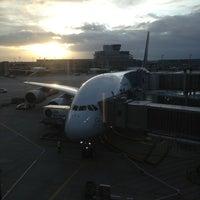 Photo taken at Lufthansa Flight LH 462 by Alexander W. on 12/31/2012