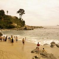 Photo taken at Playa Las Conchitas by Nestor J. on 2/10/2013