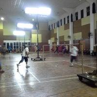 Photo taken at Dewan Badminton Taman Mahsuri by ShamPjk @. on 1/27/2014