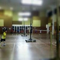 Photo taken at Dewan Badminton Taman Mahsuri by ShamPjk @. on 4/21/2014