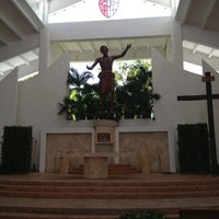 Photo taken at Parroquia de Cristo Resucitado by Alejandro M. on 6/21/2013