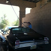 Photo taken at Red hawk hand car wash by Lo on 11/3/2012