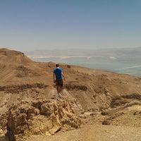 Photo taken at Sdom-Arad Road View Point / תצפית כביש סדום-ערד by David P. on 6/15/2014