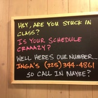 Photo taken at Inga's Subs & Salads by Erin K. on 10/26/2012