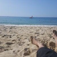 Photo taken at Haeundae Beach by Тимофей С. on 8/17/2016