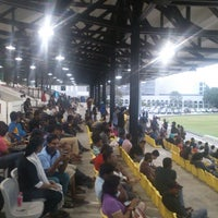 Photo taken at Colombo Racecourse by Ahamed N. on 4/6/2014