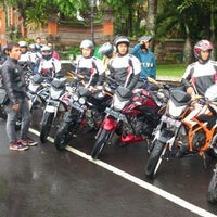 Photo taken at Monumen Puputan Klungkung by Mahe Ndra W. on 3/2/2013