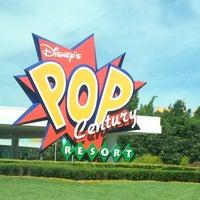 Photo taken at Disney's Pop Century Resort by Jenn on 5/27/2013