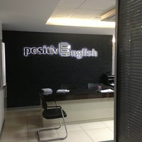 Photo taken at Positive English by Sıla Olcan on 9/1/2013