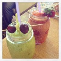Photo taken at Timboo Cafe by Sıla Olcan on 6/6/2013
