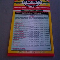 Photo taken at Padonno's Fat Sandwiches by Schneider h. on 5/18/2013