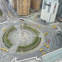 Photo taken at Columbus Circle by Schneider h. on 4/13/2013