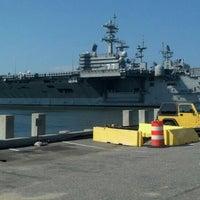 Photo taken at Norfolk Naval Shipyard by John T. on 10/6/2013