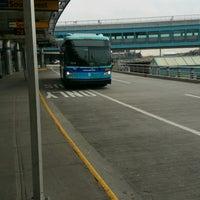Photo taken at MTA Bus -  LGA Internal Roadway & Terminal B (M60/Q48/Q70/Q72) by ♥Curtis R. on 1/30/2017