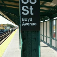 Photo taken at MTA Subway - 88th St/Boyd Ave (A) by ♥Curtis R. on 11/2/2016