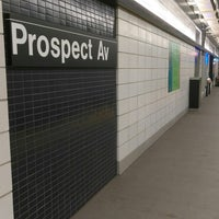 Photo taken at MTA Subway - Prospect Ave (R) by ♥Curtis R. on 11/28/2017