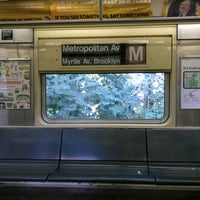 Photo taken at MTA Subway - Middle Village/Metropolitan Ave (M) by ♥Curtis R. on 9/3/2017