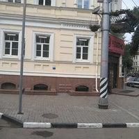 Photo taken at остановка «ул. Рахова» by Adanit on 6/1/2013