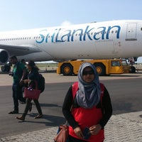 Photo taken at Srilankan Airline UL 102 by Thoriq M. on 7/2/2014