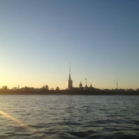 Photo taken at Neva River by Özge on 5/21/2013