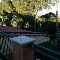 Photo taken at Hotel Panoramic Montepulciano Siena Italy by Yuri B. on 4/16/2014