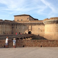 Photo taken at Rocca Roveresca by Holger L. on 7/18/2013