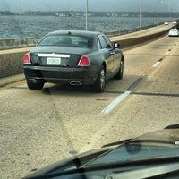 Photo taken at Three Mile Bridge by John P. on 2/11/2013
