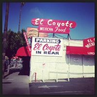 Photo taken at El Coyote by Gene D. on 6/6/2013
