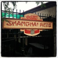 Photo taken at Shanghai Red's Oyster Bar by Gene D. on 1/25/2013