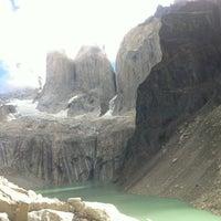 Photo taken at Parque Nacional Torres del Paine by Esteban M. on 3/1/2013