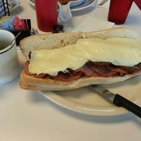 Photo taken at New York Diner & Bagel by Earnest H. on 5/30/2013