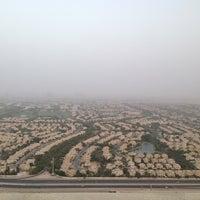 Photo taken at Pool @ Dubai Gate 1 by Naji N. on 7/28/2013