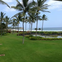Photo taken at Grand Hyatt Kauai Resort & Spa by Daniel on 4/7/2013