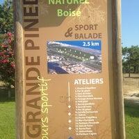 Photo taken at Rond Point Du Mas De L Ille by Marion H. on 7/22/2013