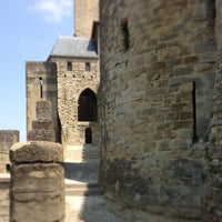 Photo taken at Château Comtal de la Cité de Carcassonne by Marion H. on 7/20/2013